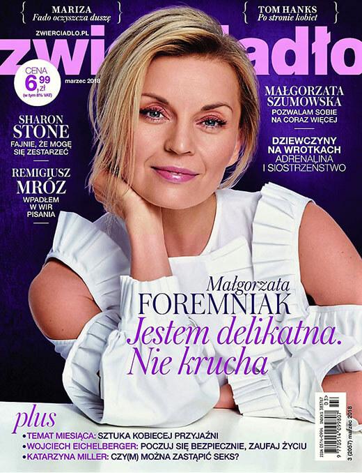 Okładka Zwierciadło - 2018-03