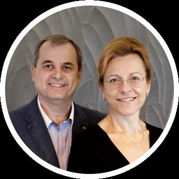 Ewa i Jarosław Brzozowscy - właściciele kliniki urody Beauty Duty