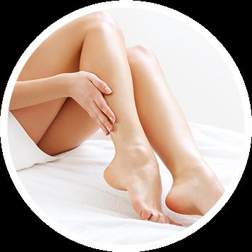 Usuwanie owłosienia z kobiecych nóg