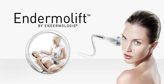 Zabieg Endermolift wykonywany na twarzy kobiety