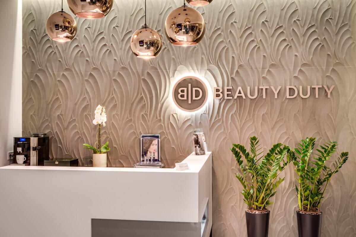 Wnętrze kliniki Beauty Duty