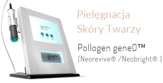 Pollogen geneO - pielęgnacja skóry twarzy