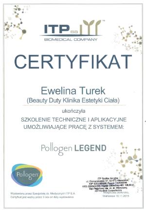 Ewelina Turek – Pollogen Legend