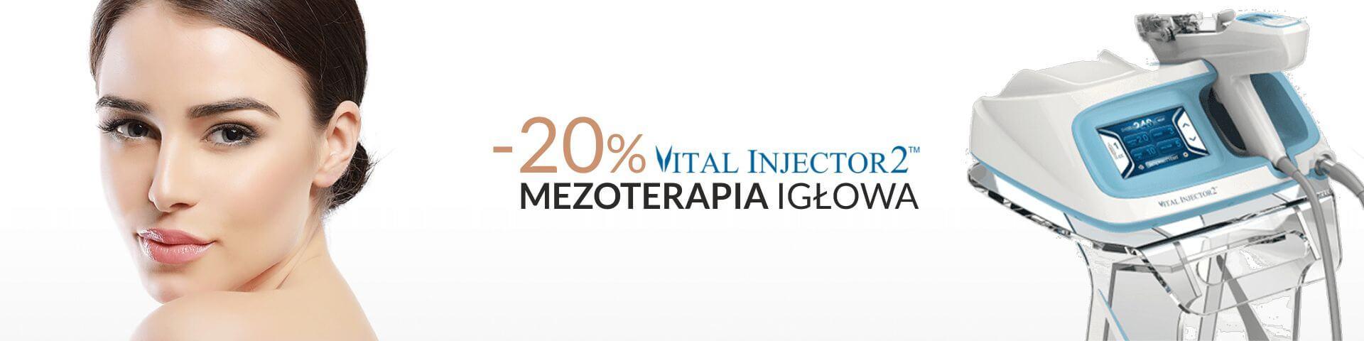 Mezoterapia Igłowa - promocja