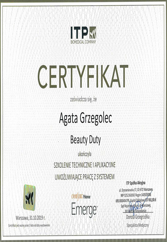 Agata Grzegolec – Emerge