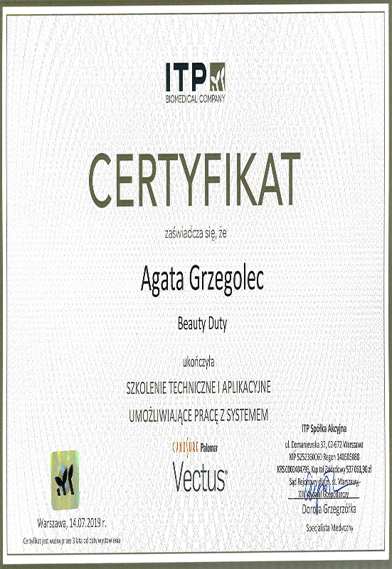Agata Grzegolec – Vectus