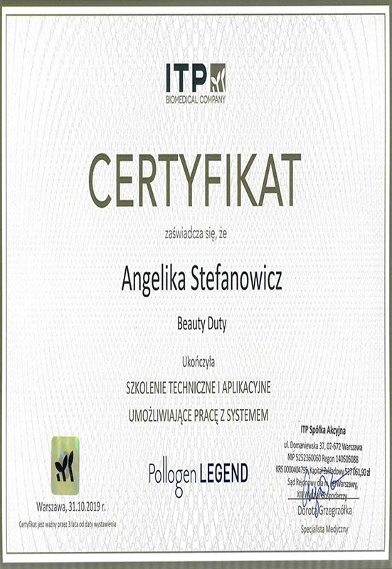 Angelika Stefanowicz – Pollogen Legend