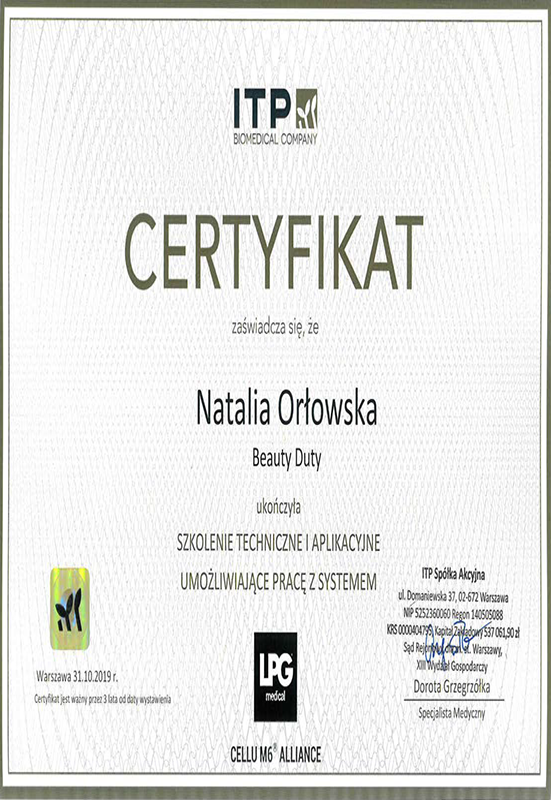 Natalia Orłowska – LPG