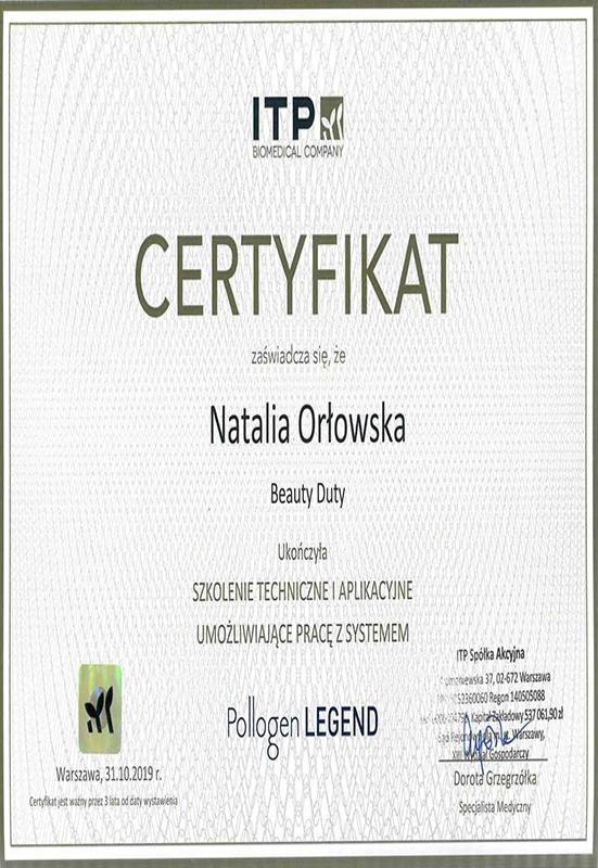Natalia Orłowska – Legend