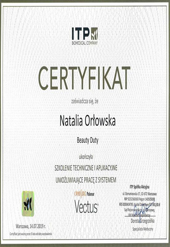 Natalia Orłowska – Vectus