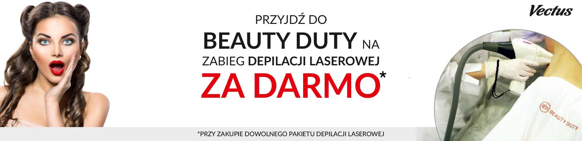 Promocja na depilację laserową w Beauty Duty